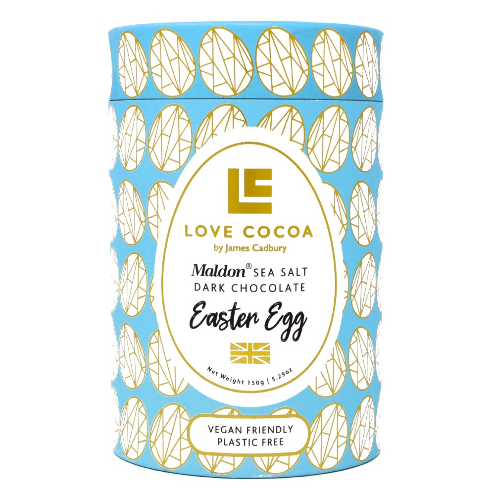 Love Cocoa Sea Salt Dark Chocolate Easter Egg, Royal Opera House Shop