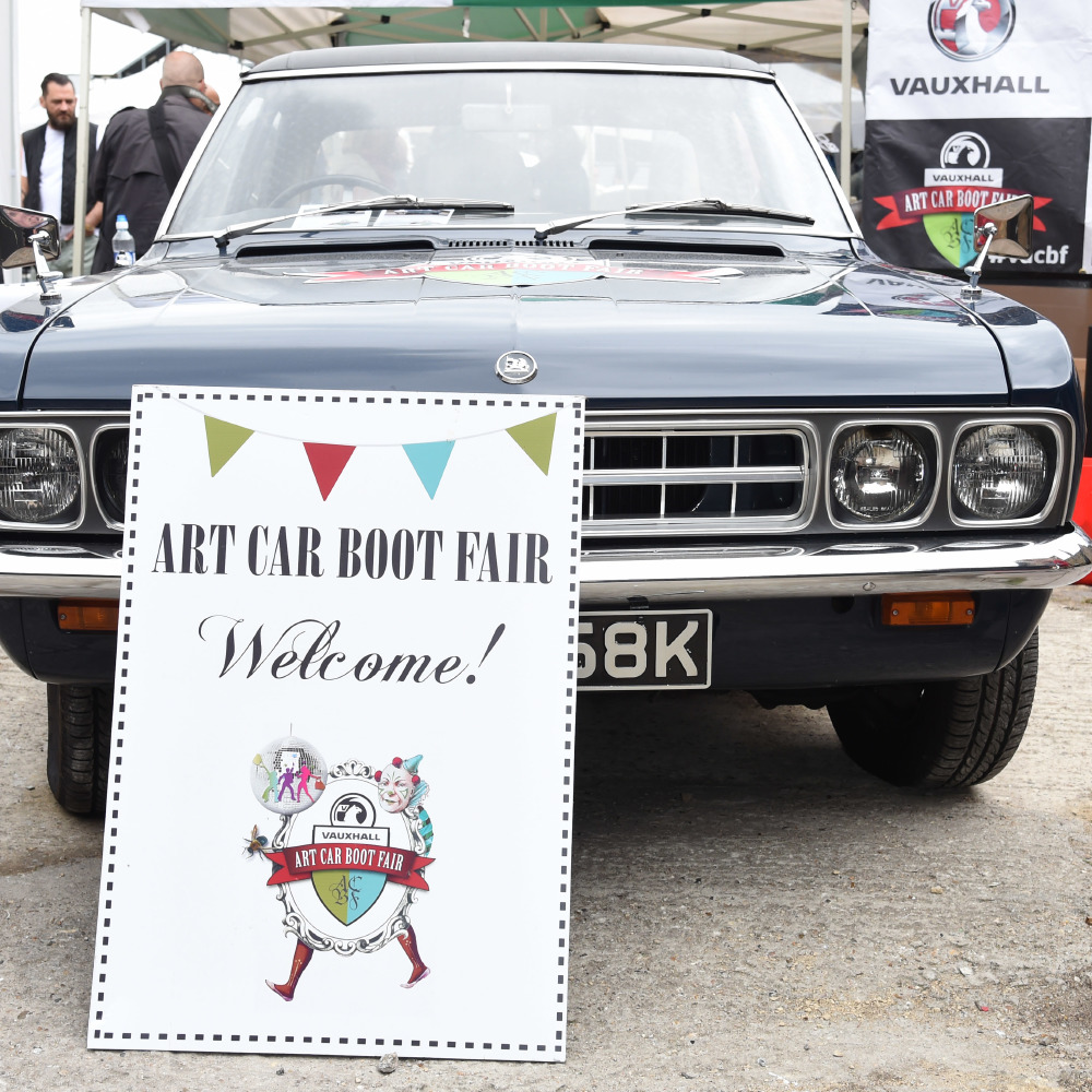 Vauxhall Art Car Boot Sale