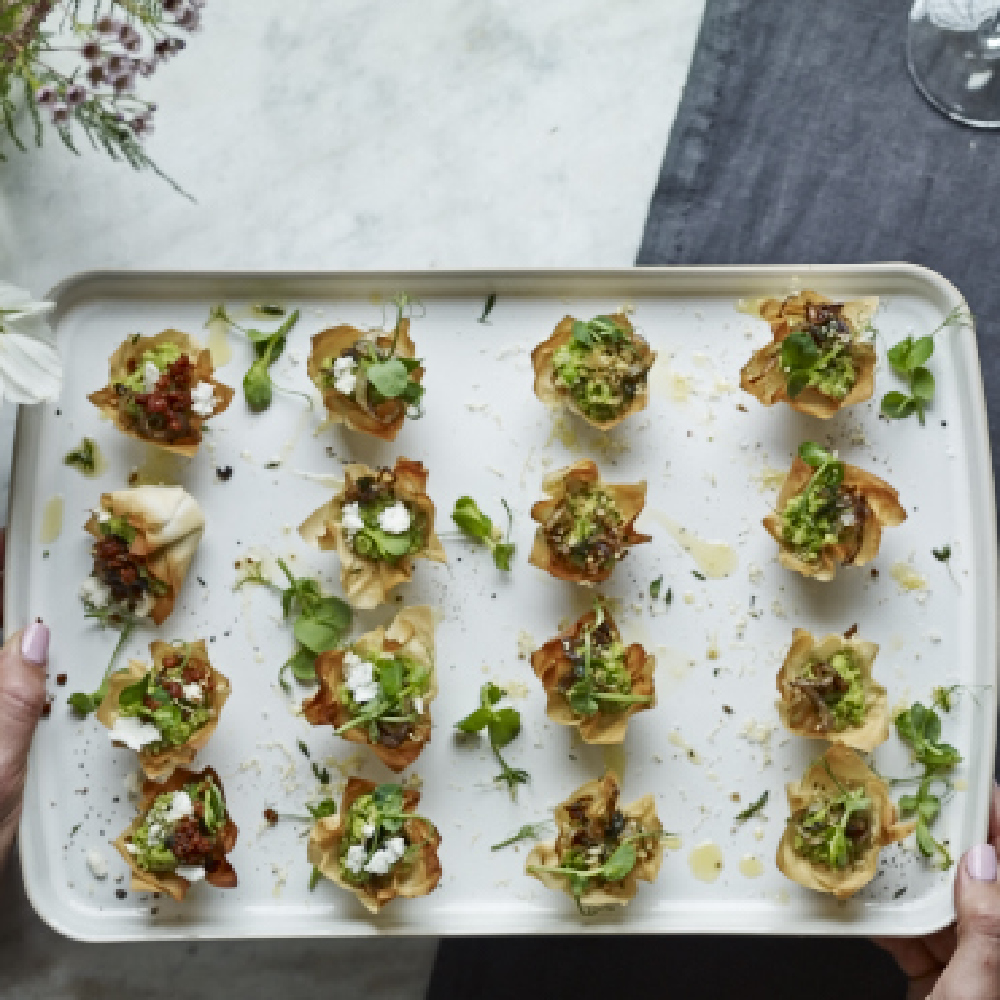 Vegan canapes for Canape ingredients