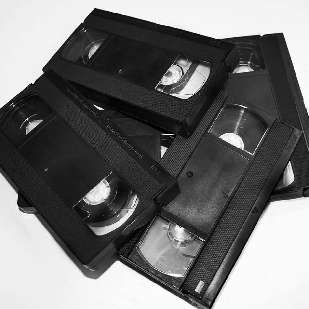 Hours were spent rewinding video tapes