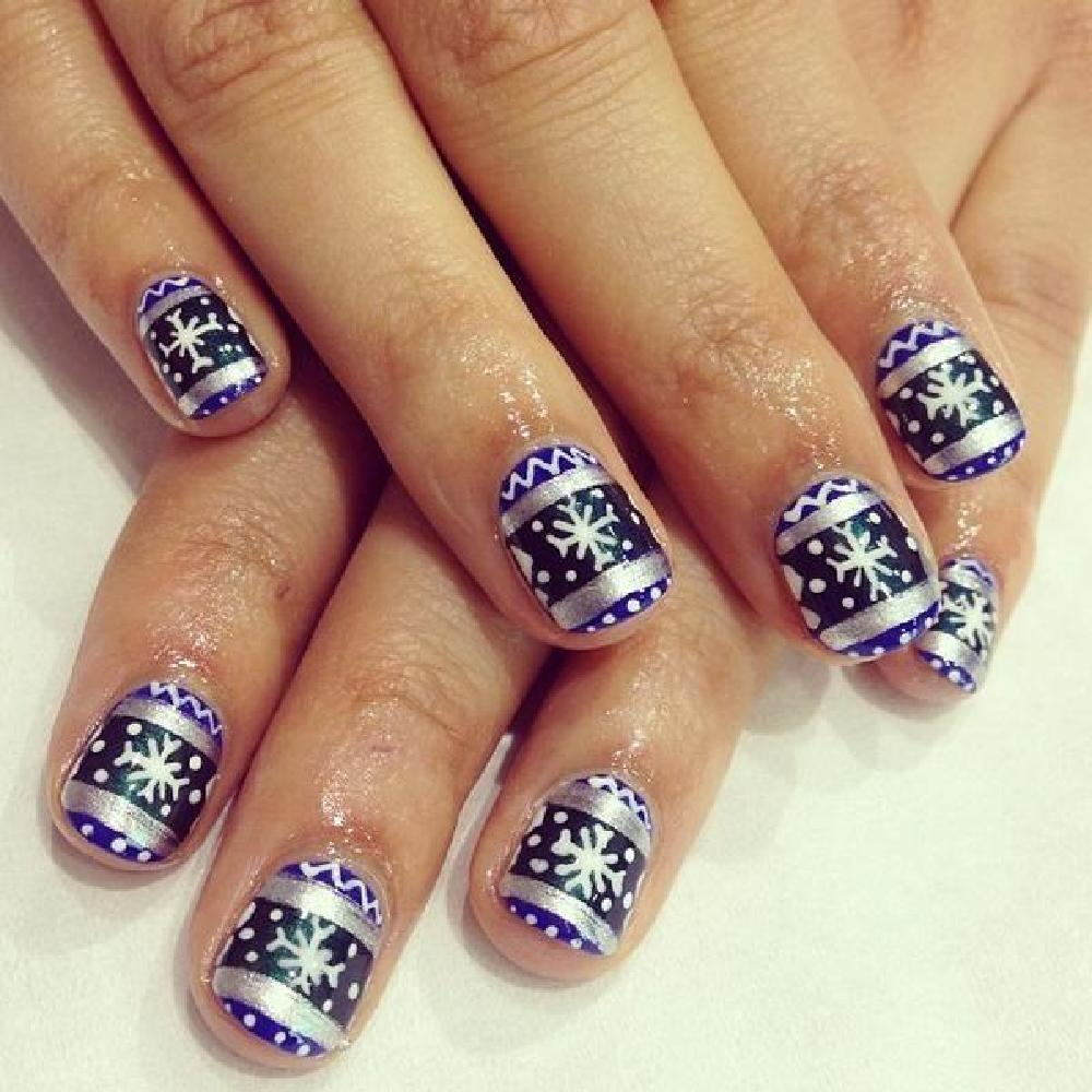 Fun Festive Nails