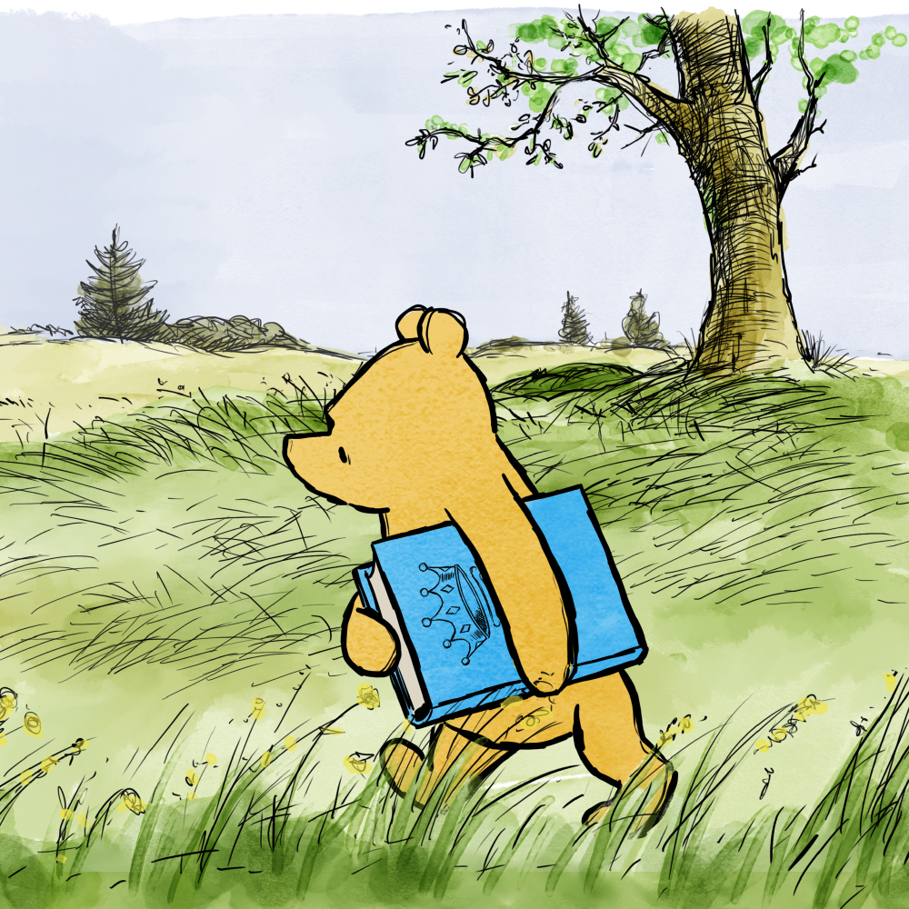 Winnie The Pooh Celebrates The Birth Of The Royal Baby