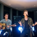 Conor Maynard performing at BT Infinity's 'Live From The 34th Floor'