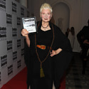 Vivienne Westwood with her Scottish Fashion Award
