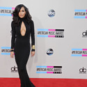 Naya Rivera stuns in simple black Michael Kors