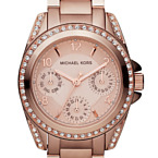Mini Blair Rose Gold Watch