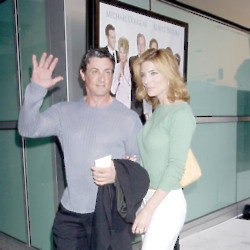 Sylvester Stallone and Jennifer Flavin (Credit: Famous)