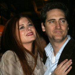 Debra Messing and Daniel Zelman (Credit: Famous)
