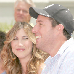 Adam and Jacqueline Sandler (Credit: Famous)