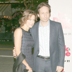 David Duchovny and Tea Leoni (Credit: Famous)