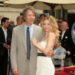 Michelle Pfeiffer and David E Kelly (Credit: Famous)
