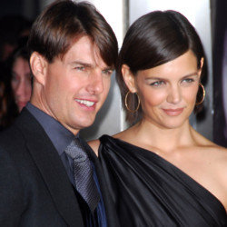 Tom Cruise and Katie Holmes (Credit:Famous)