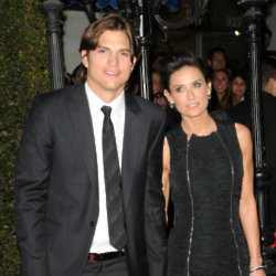 Ashton Kutcher and Demi Moore (Credit: Famous)
