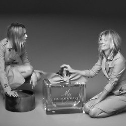 Cara Delevingne and Kate Moss star together in the new Burberry campaign