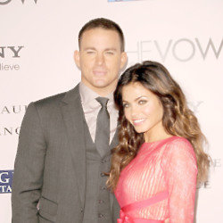 Channing Tatum and Jenna Dewan-Tatum (Credit: Famous)