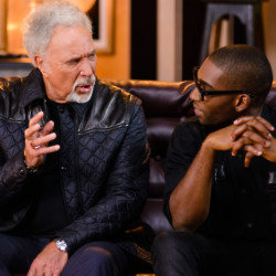 Tom Jones is joined by Tinie Tempah / Credit: BBC