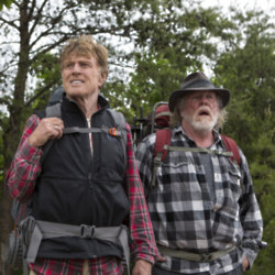 Robert Redford and Nick Nolte in A Walk in the Woods / Picture Credit: Route One Entertainment