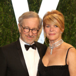 Stephen Spielberg and Kate Capshaw (Credit: Famous)