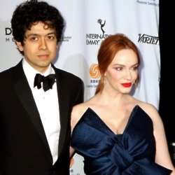 Christina Hendricks and Geoffrey Arend (Credit: Famous)