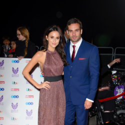 Lucy Watson and partner
