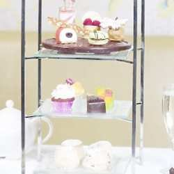 Afternoon Tea in the Podium is a traditional and relaxing experience