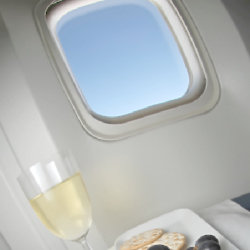 Which airline has served you the best wine?