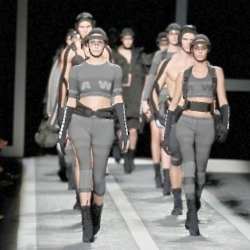 The Alexander Wang collection for H&M is edgy