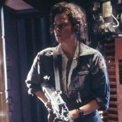 Sigourney Weaver as Ellen Ripley in the original Alien
