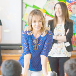 Amanda Holden is helping to support the campaign this year