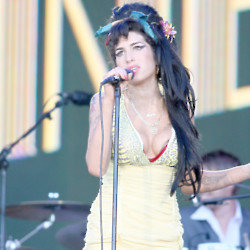 Amy Winehouse is one of the four BRIT School winners