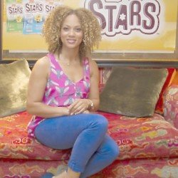 Angela Griffin is fronting the Baked Stars campaign