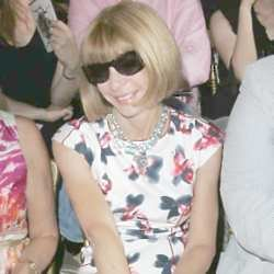 Anna Wintour is not smiling now though