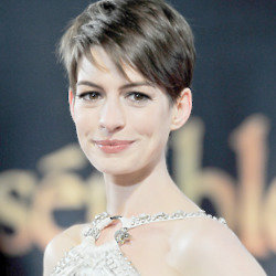 Would you go for the chop like Anne Hathaway?