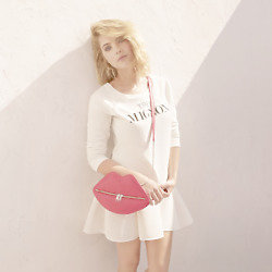 Ashley Benson models the H&M Divided summer collection
