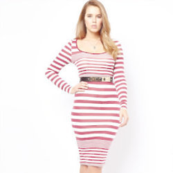This striped dress is from ASOS