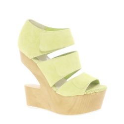 ASOS DV8 Javelin Cut Out Suede Wedges