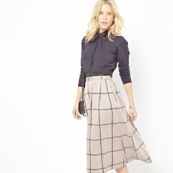 Midi Skirts on Female First