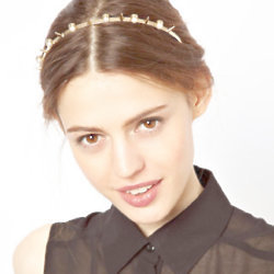 How cute is this pearl and spike headband from ASOS?