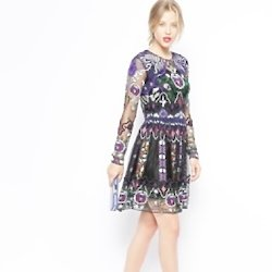 This ASOS dress could have walked in the Valentino showcase