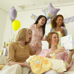 Baby showers are the new parenting trend in the UK