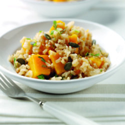Bakes Barley & Butternut Squash Risotto