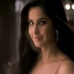 Katrina with her 'Barbie' in advert