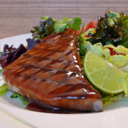 Tuna Steaks With A Peking Glaze