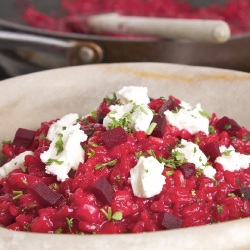 VIDEO: Beetroot Risotto Recipe