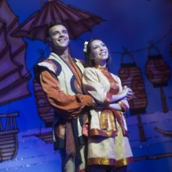 Ben Adams and Claire-Marie Hall as Aladdin and Princess Jasmine / Credit: Phil Tragen