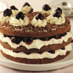 Princes Black Cherry Gateau