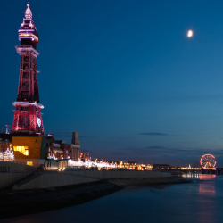 Blackpool by night