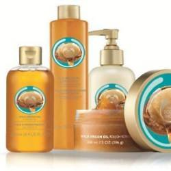 The Body Shop Wild Argan collection