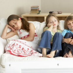 Children often find themselves bored in the summer holidays