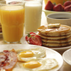 Complimentary breakfast was voted number one by global travellers.